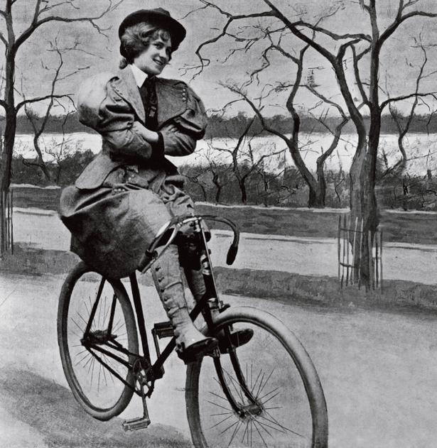 Lucruri care au iscat panica morala: bicicletele