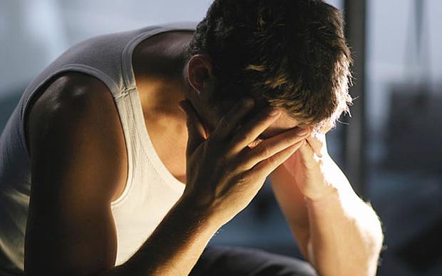 Barbatii ar trebui sa accepte depresia, nu sa se imbarbateze