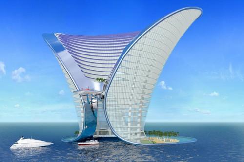 Concepte futuriste de hoteluri
